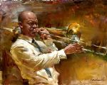 andrew atroshenko solid brass paintings