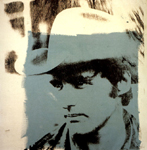 dennis hopper 1971 by andy warhol painting