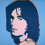 mick jagger 1975 by andy warhol painting