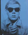 andy warhol self portrait 64 painting