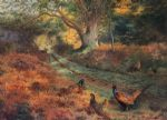 the bridle path by archibald thorburn painting