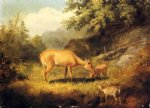 maternal affection by arthur fitzwilliam tait painting