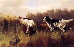 prarie shooting find him by arthur fitzwilliam tait painting