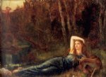 arthur hughes endymion paintings