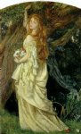 ophelia and will he not come again by arthur hughes painting