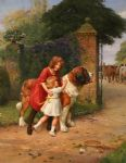 safely guarded by arthur john elsley painting