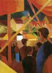 august macke tightrope walker paintings