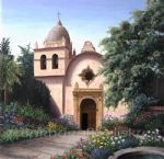 barbara felisky carmel mission painting