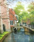 barbara felisky delft canal bridge painting