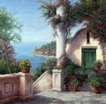 dreaming of capri by barbara felisky painting