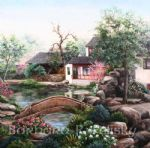 mr. ma s garden by barbara felisky painting