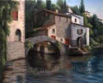 barbara felisky the bridge at nesso posters
