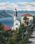 barbara felisky the church at nesso posters