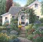 barbara felisky the yellow house garden posters