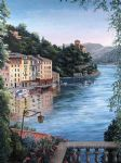 barbara felisky view of portofino harbor posters