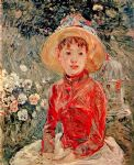 berthe morisot young girl with cage prints