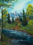 bob ross anglers haven 85972 art