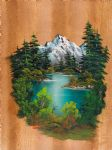 bob ross fishermans paradise 86021 oil paintings