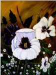 art oil paintings - flowers by bob ross