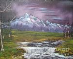 bob ross impressions in oil 86050 posters