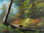 art oil paintings - indian summer by bob ross