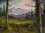 bob ross meadow view 86077 painting