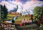 bob ross paradise 85960 oil paintings