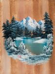 bob ross winter paradise 86166 oil paintings