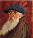 portrait paintings - self portrait iii by camille pissarro
