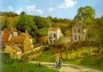 camille pissarro the hermitage at pontoise paintings