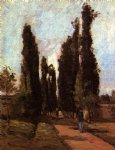 the road by camille pissarro painting