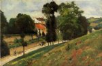 the saint by camille pissarro painting