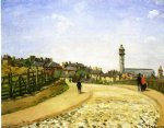 upper norwood chrystal palace london by camille pissarro painting