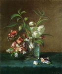 carducius plantagenet ream floral still life oil painting