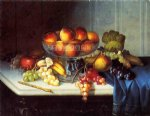 carducius plantagenet ream still life fruit and knife painting