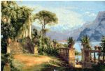 carl fredrik aagard lodge on lake como 3 painting