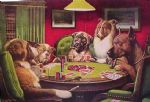 cassius marcellus coolidge dogs playing poker paintings
