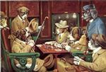 cassius marcellus coolidge his station and four aces painting
