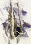 charles demuth tree forms painting