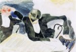 charles demuth waiters at the brevoort painting