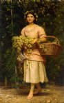charles edward perugini paintings - the hop picker by charles edward perugini
