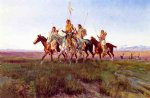 charles marion russell return of the war party painting-36119