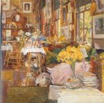 childe hassam the room of flowers painting 84133
