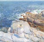childe hassam the south ledges appledore paintings-84215