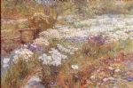 the winter garden by childe hassam paintings