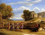 claude lorrain the dance of the seasons painting-83513