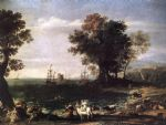 the rape of europa by claude lorrain painting