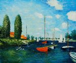argenteuil ii by claude monet painting