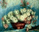 chrysanthemums ii by claude monet painting
