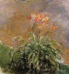hamerocallis by claude monet painting